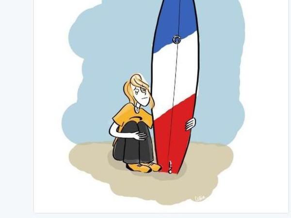 Jean Dujardin rend hommage aux victimes de l'attentat de Nice