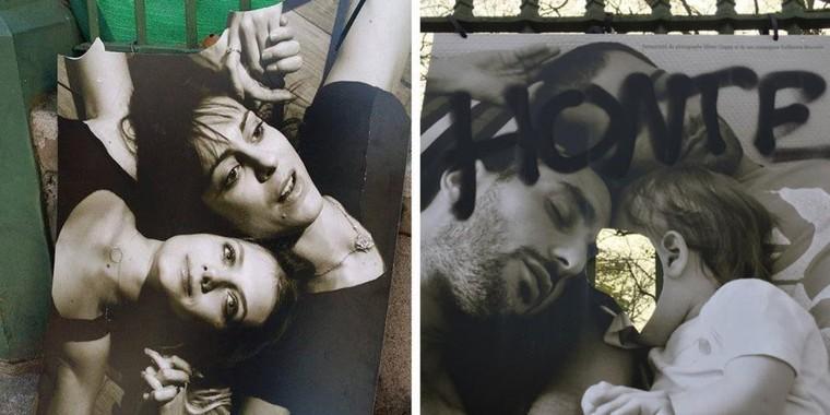 Une exposition contre l'homophobie vandalisée à Toulouse