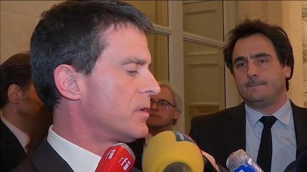 """Manuel Valls: """"C'est un beau jour pour la République"""""""
