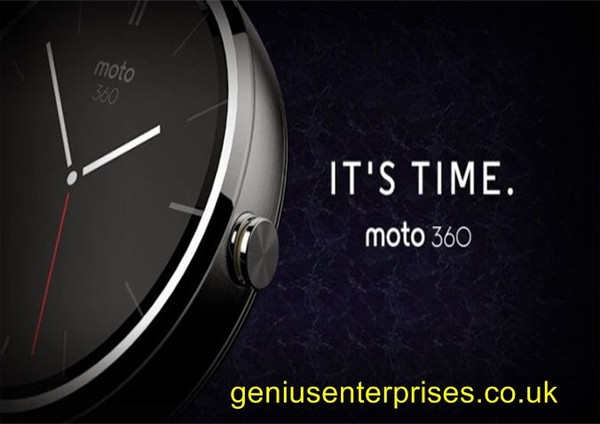 Motorola released the circular smart watch Moto 360