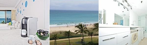 Palm Beach Surf | Cheap Beachfront Holiday Apartment Gold Coast - Blue Ocean Apartment, Australia