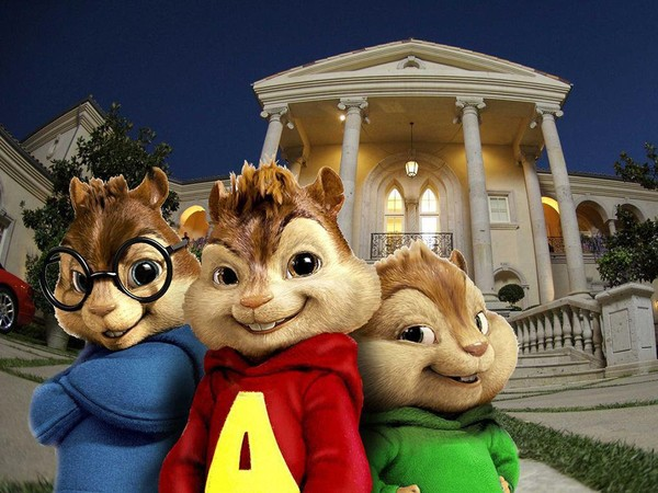 Alvin and the Chipmunks 2 Wallpaper: Chipmunks in DC