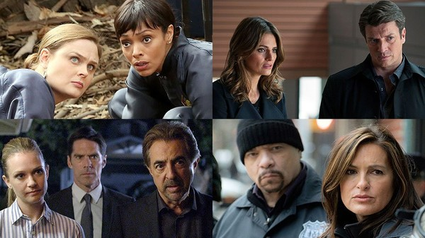 How 'Bones,' 'Castle,' 'Criminal Minds' and 'Law & Order: SVU' create the perfect crime - Zap2it | News & Features