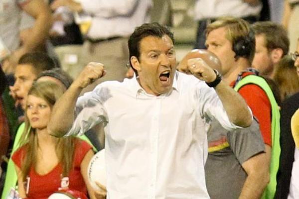 Marc Wilmots, fier après Belgique - Serbie (2-1): «Mes Diables sont allés au bout de la douleur» (photos et vidéos)