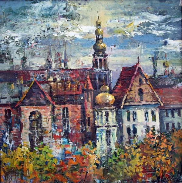 Old city by artsevets on DeviantArt