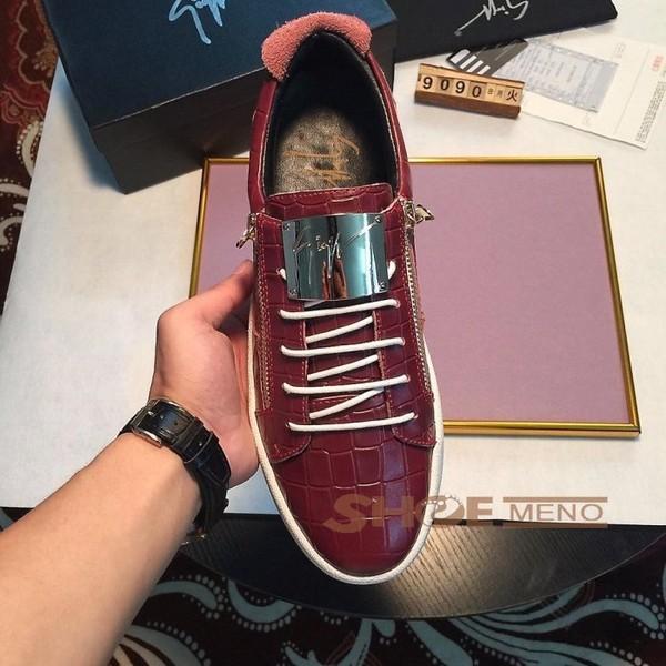 2017また夏の新入荷靴ブランドコピーGiuseppe Zanotti公式の完壁な品質N級品§品牌偽物ブランド靴メンズ 靴NO.24225绝賛発売♪♫カジュアルシューズ