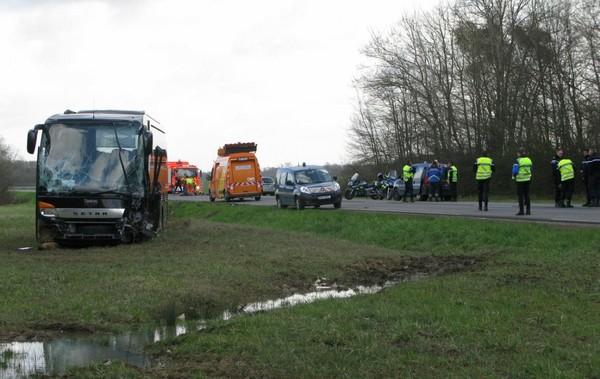 La N 36 coupée après un accident mortel à Fontenay-Trésigny