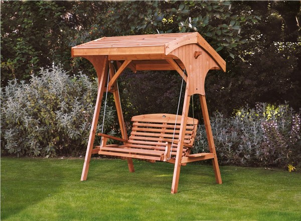Designing a Garden Swing Seats for the Minimalist Home Garden | HomeDecorIn.com