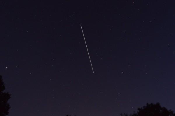 Deux passages de L'ISS - astronomie27