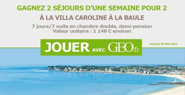 Grand jeu - Geo.fr