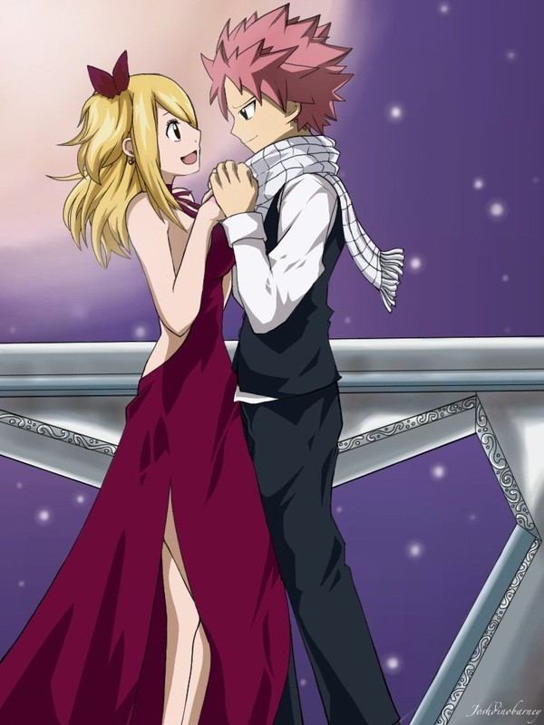 NaLu: A little while longer is never enough for me by ~Joshdinobarney on deviantART