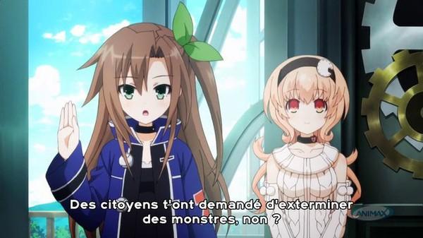 [Asobu-no-Fansub] Choujigen Game Netpune The Animation 01 VOSTFR TV 720p [8bit]