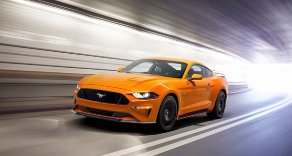The 2018 Ford Mustang gets a V8 instead of V6