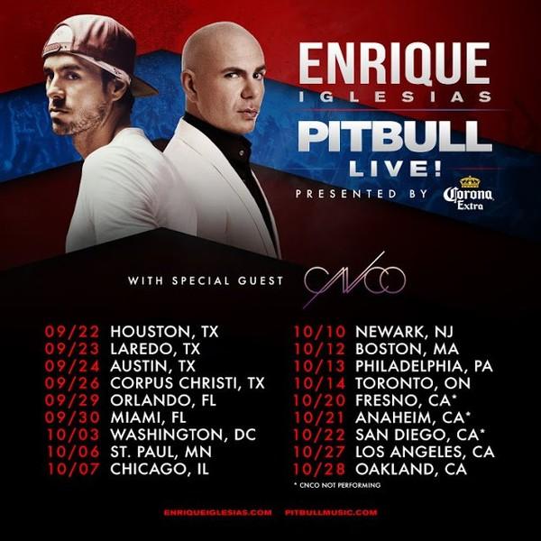 STAR PEOPLE CROWN: Enrique Iglesias and Pitbull LIVE -CNCO - SUBEME LA RADIO ft. Descemer Bueno, Zion