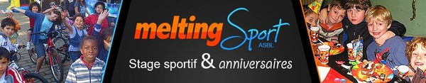 Stage sportif bruxelles - Meltingsport