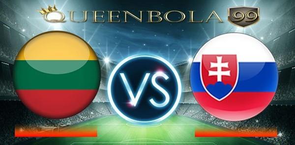 Prediksi Lithuania vs Slovakia 11 Juni 2017