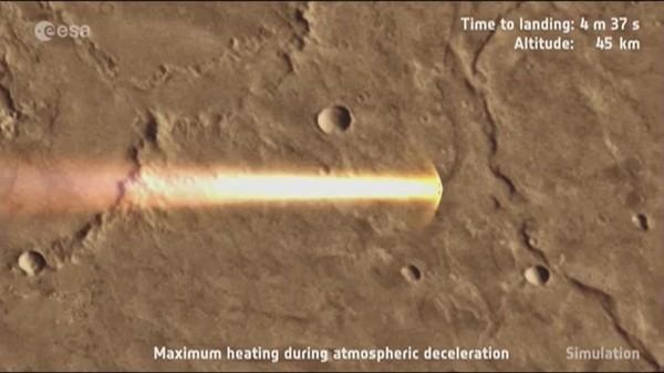 ExoMars 2016 : pas de nouvelles du module Schiaparelli, mais la sonde TGO est en orbite autour de Mars