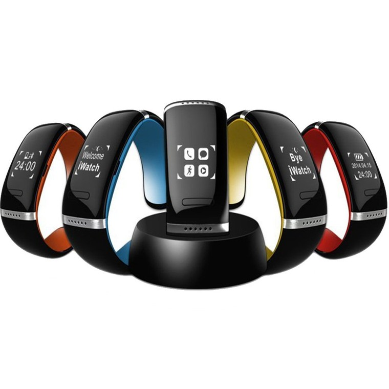 L12S Waterproof Fuelband Smartband OLED Bluetooth 3.0 Bracelet Wrist Watch Design IOS Android