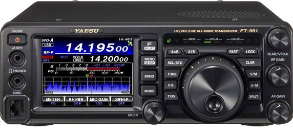 Yaesu FT-991 – HF/50MHz/VHF/UHF