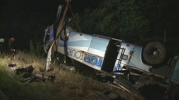 Quinze blessés dans l'accident d'un bus suisse en Hongrie