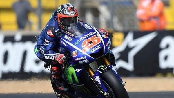 Dramatis di Prancis: Vinales Juara, Rossi Crash | Berita Olahraga Terkini