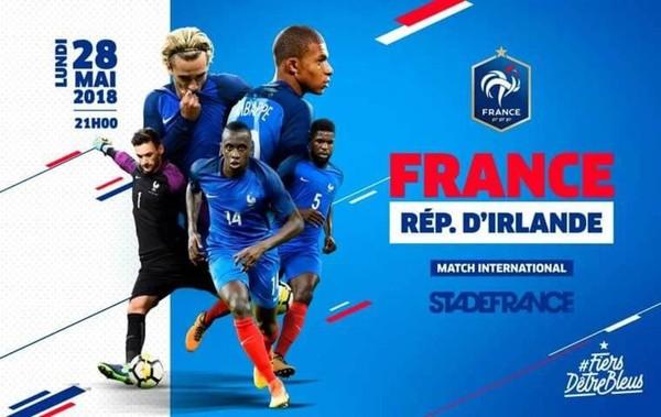 FRANCE-REPUBLIQUE D'IRLANDE LE 20 MAI 2018