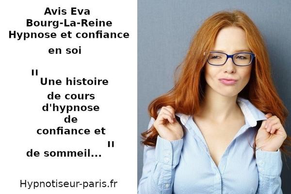 AVIS EVA : COURS D'HYPNOSE, SOMMEIL ET CONFIANCE EN SOI - Hypnotiseur à Paris