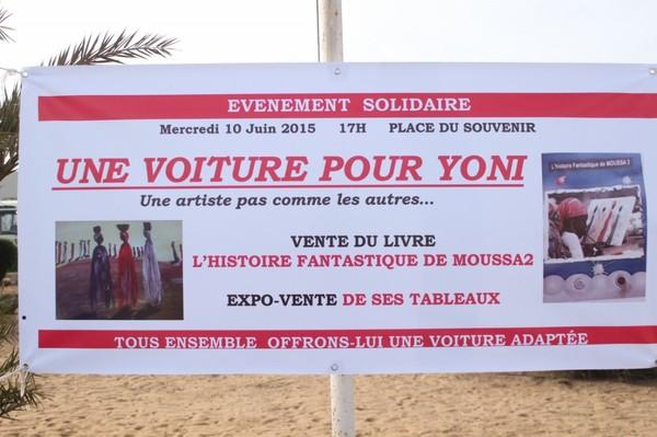 """Revivez en images le lancement de l'opération """"Une Voiture pour soutenir Yoni"""" organisée par Hulo Guillabert"""