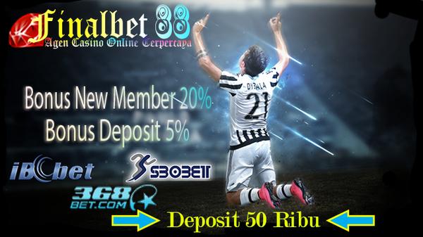 Situs Main Bola Online Terpercaya Mudah Aman Deposit 50ribu