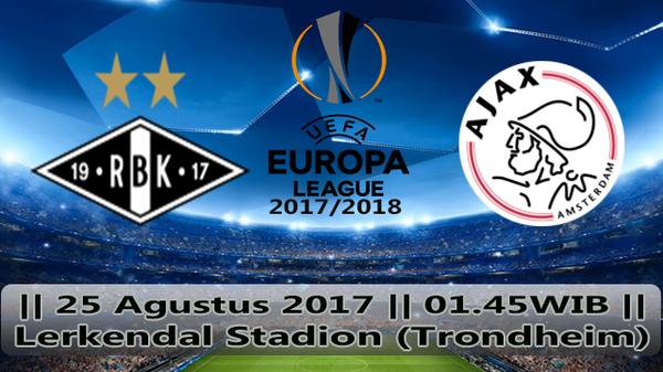 Prediksi Rosenborg vs Ajax 25 Agustus 2017 Liga Eropa