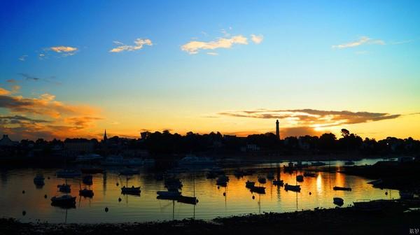 Sunrise in Sainte Marine