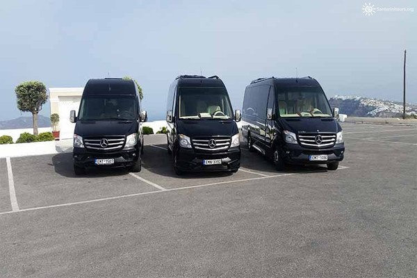 Santorini Private Transfers Services - SANTORINI PRIVATE GUIDED TOURS