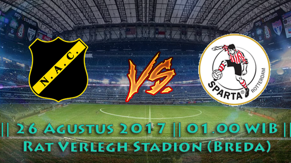 Prediksi NAC Breda vs Sparta Rotterdam 26 Agustus 2017 Liga Belanda