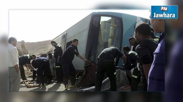 Egypte : Des dizaines de morts et blessés dans un accident de bus