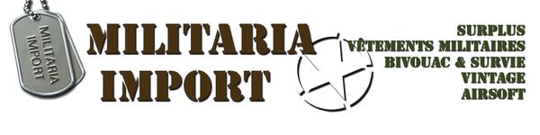 Surplus militaire à Castries, equipement de survie et airsoft - Militaria Import