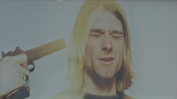 La dernière séance photo de Kurt Cobain
