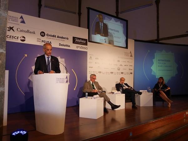 Le chef du gouvernement d'Andorre Antoni Marti invite à la coopération des investisseurs dans le monde entier | ALL ANDORRA