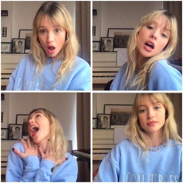 """Angèle on Instagram: """"Bon et sinon cava vous ?"""""""