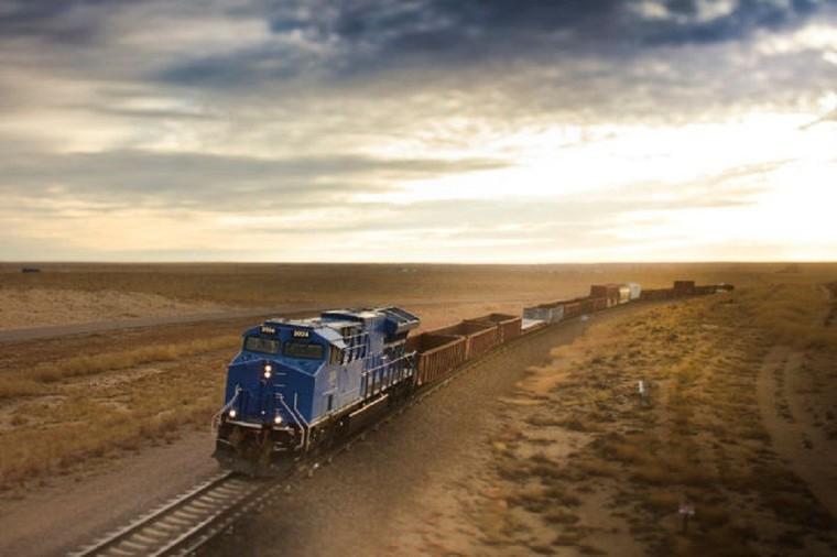 C'est sur ce circuit de la mort que sont testés les trains !