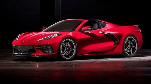 Chevrolet Corvette C8 Stingray 2020 elle a l'air absolument incroyable