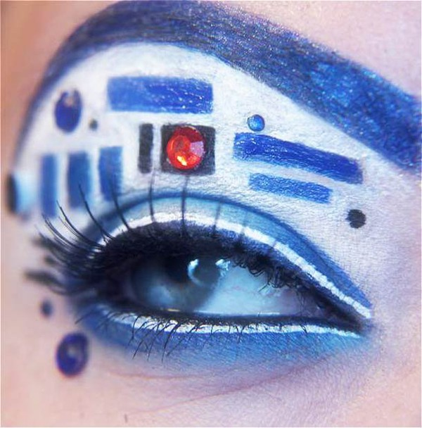 R2D2, Iron Man, Hulk, Thor et les Avengers – Les maquillages des yeux geek de Jangsara | Ufunk.net