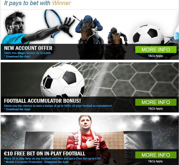 Winner Sports Review | Best sports betting sites reviews