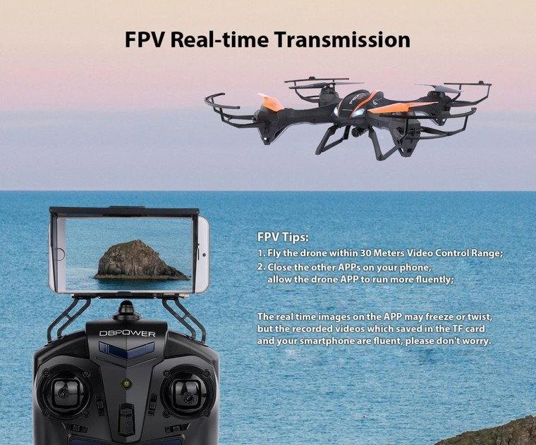 Top 5 Best Wifi Remote Control FPV Quadcopter Drone For iPhone