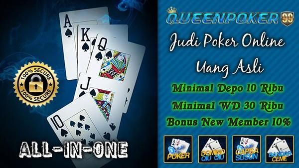 Agen Poker Online Minimal Deposit 10000