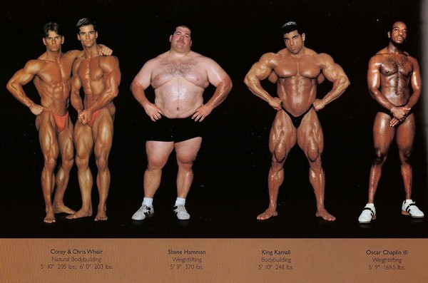 Extremely genuine athlete body types - NICE PLACE TO VISIT