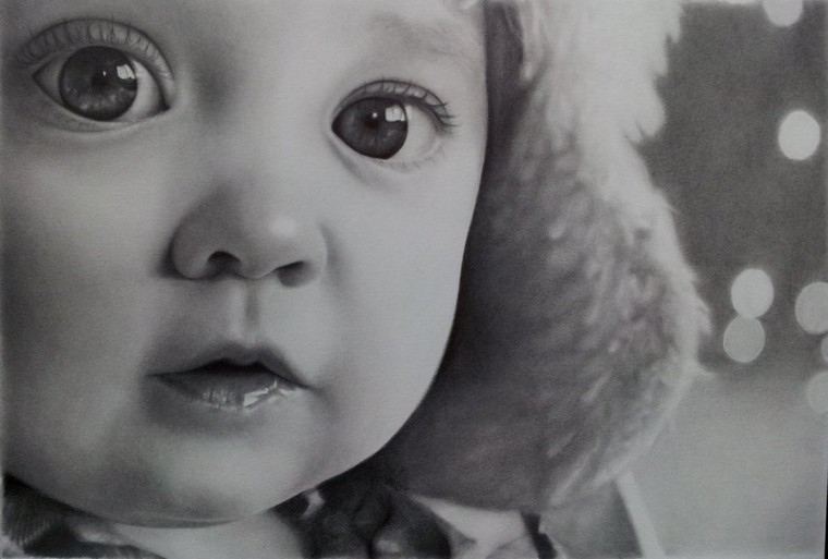 Drawing: Post 1,, Natural Beauty Drawing { Babys }