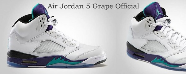 Buy Air Jordan 5 Grape 2013 Online,Cheap Grape Jordan 5S For Sale