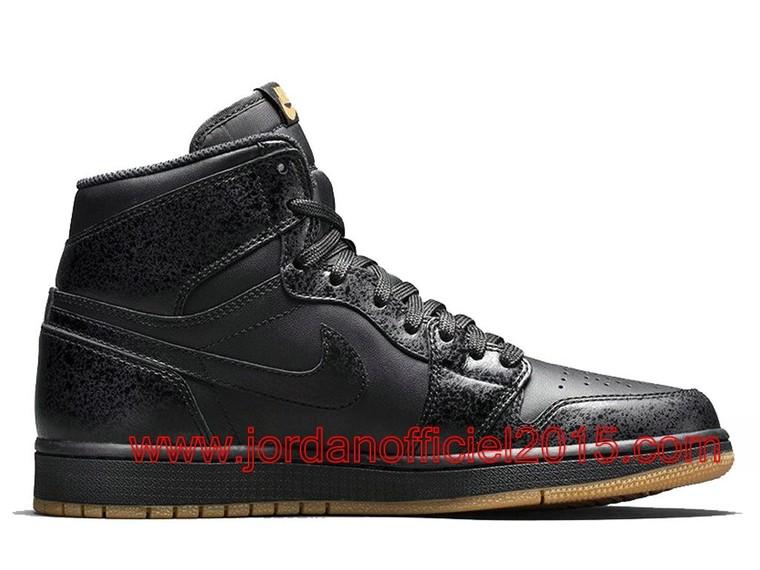 buy online fda59 690f3 Air Jordan 1 Retro High OG Chaussures Nike Officiel Pas cher Pour Homme  Black Gum 555088-020 - 1508010696 - La Boutique Nike Air jordan Officiel  2015 Pas ...