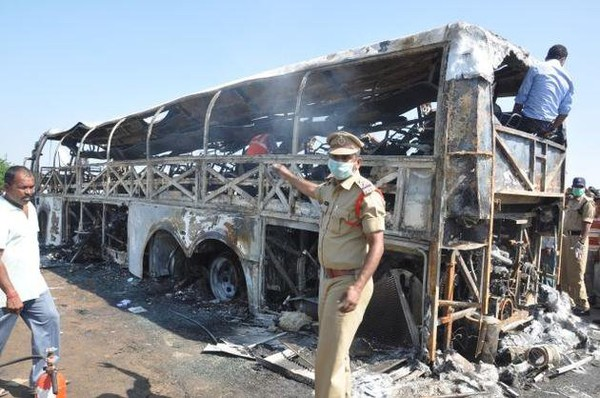 Volvo bus accident: four taken into custody
