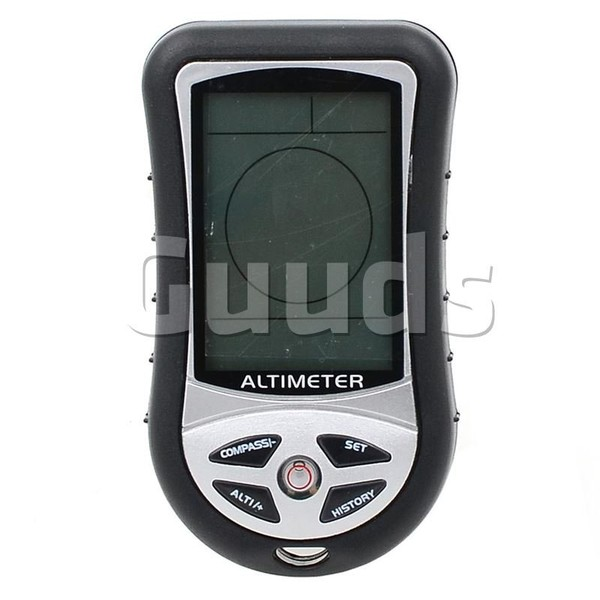 8 in 1 Multifunction Electronic Digital Altimeter Watch Compass - Outdoor Gadgets - Guuds